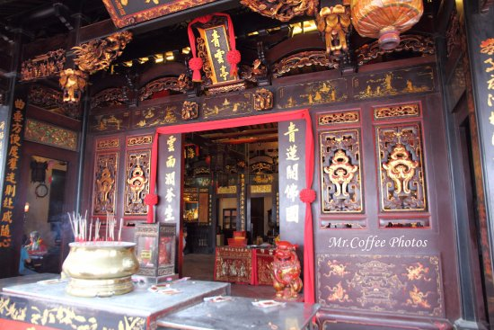 Cheng Hoon Teng Temple: 「青雲亭」主殿