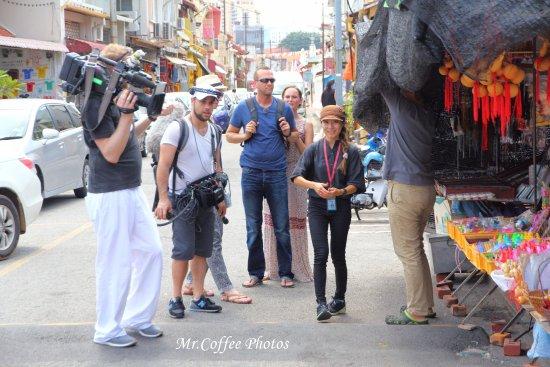 Cheng Hoon Teng Temple: 這天正好運見國外媒體採訪