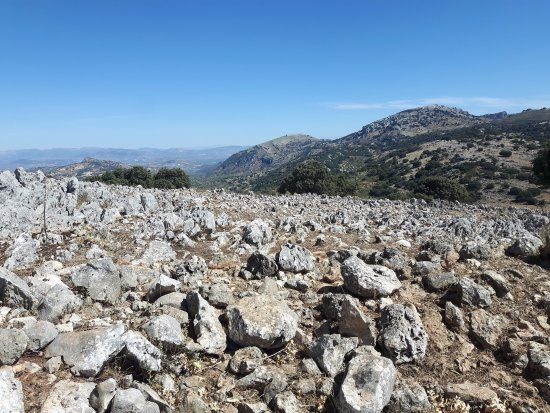 Zuheros, Spain: Panorama circostante
