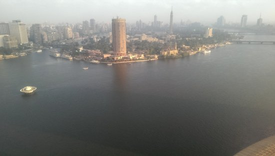 Grand Nile Tower: wonderful city from this distance