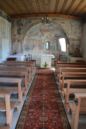 Schmitten, Schweiz: vecchia chiesa