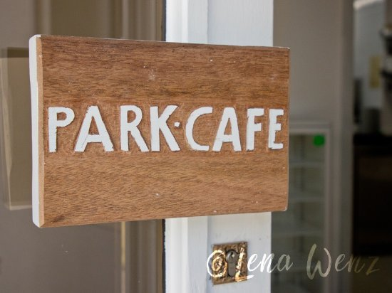 Bad Berneck im Fichtelgebirge, Germany: Hotel & Park-Cafe, Bad Berneck