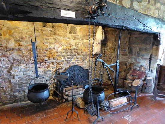 Arlington, UK: Kitchen at Michelham Priory