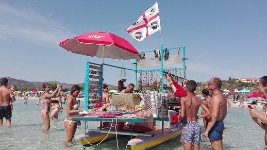 Capo Coda Cavallo, Italie : La Barcarella