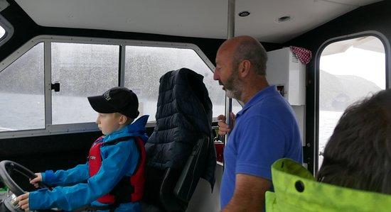"""Arranmore, Ireland: Jim hat einen """"Leichtmatrosen"""" angeheuert"""