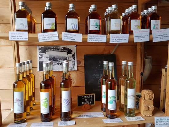 Saint-Pierre-de-Chartreuse, Francia: Products from the garden