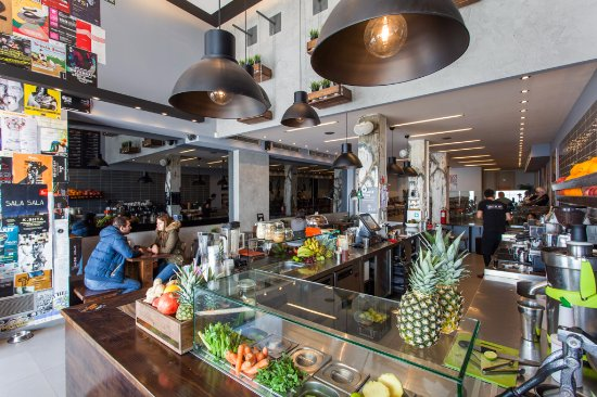 JOIN Juice Bars: Join Juice Bars - view from the bar
