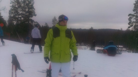 Baldone, Lettonie : Good snow