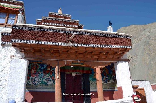 Rizong Monastery and Jelichun Nunnery : l'ingresso del tempio