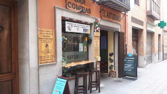 El Asturiano: Fachada