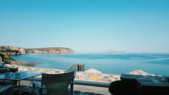 Moutsouna, Greece: Θέα από το εστιατόριο