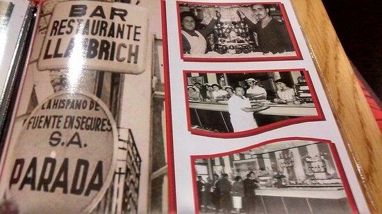Sant Jaume d'Enveja, España: FOTOS HISTÓRICA INCLUIDAS EN LA CARTA