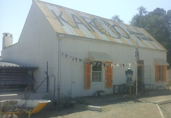 Victoria West, Sydafrika: Karoo Yard where travelers and tourists find a tranquil place to relax and rest.