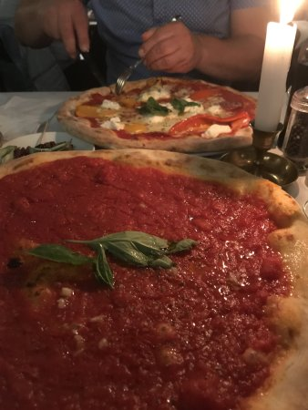 pizza picante marinara bild von pizzeria ristorante papa pane di sorrento berlin tripadvisor. Black Bedroom Furniture Sets. Home Design Ideas