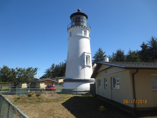 Winchester Bay, OR: lighthouse