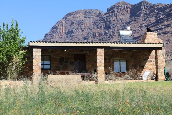 Clanwilliam, Νότια Αφρική: One of the cottages which has a great braai.