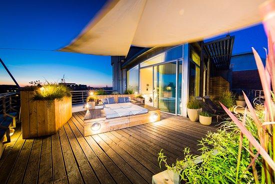 fjord hotel berlin: Unser Lieblingsplatz