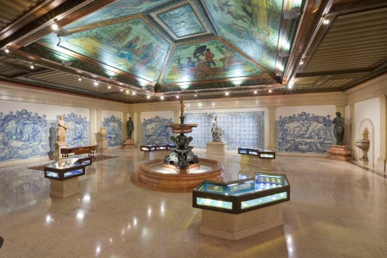ddf0eb43a52 Museu Medeiros de Almeida  Casa-Museu Medeiros e Almeida - Sala do Lago