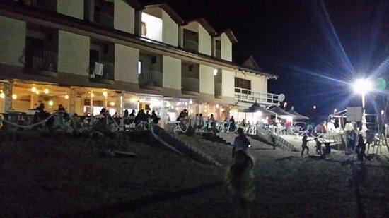 2 Mai, Romania: hotel and the ground floor restaurant