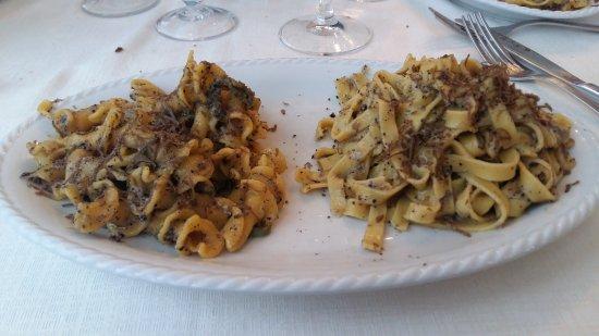 Preci, Italia: Ottimo cibo veramente