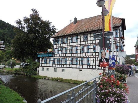 Schiltach, Almanya: Historische Altstadt Schiltac, Schiltac, Alemania.