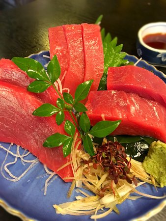 Nonoichi, Japon : 絶対に食べたいマグロ赤身刺し