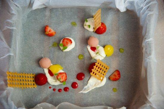 Papendrecht, Países Bajos: Aardbeien Tiramisu