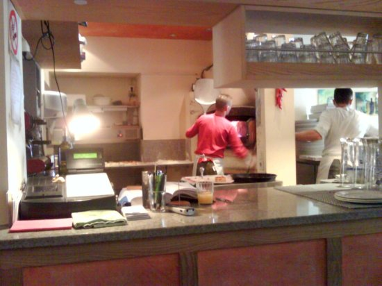 Kuche Mit Tresen Picture Of La Pizzeria Ingolstadt Tripadvisor