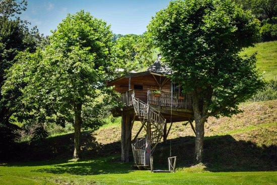 Esterencuby, France : cabane perchée
