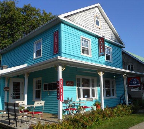 Saint-Come, Kanada: Le Petit Café d'Antan, 1410 rue principale, St-Côme