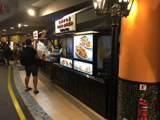 Singapore Food Street Upstairs On Level Three Purchase A Payment Card Token At
