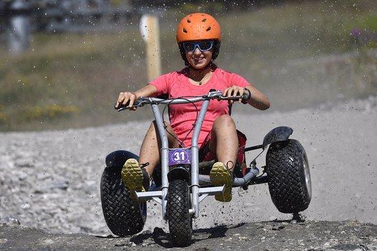 Saint-Chaffrey, France: Mountain Kart Serre Chevalier
