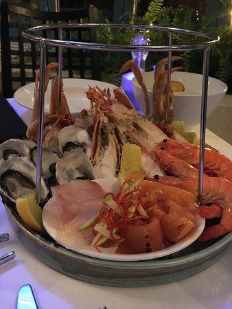 Coogee, Australia: Seafood Platter, cold
