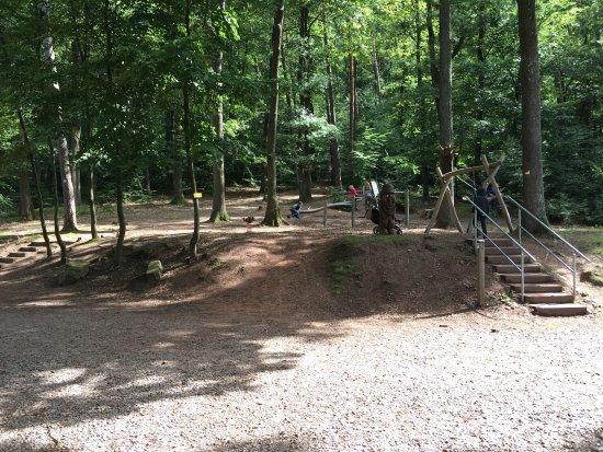 Ramberg, Deutschland: Spielplatz beim Waldhaus