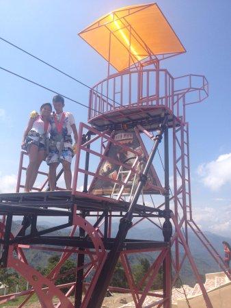 Nimaima, Kolumbia: Ready to do Canopy