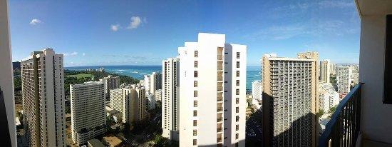 Aston at the Waikiki Banyan : view from room 3606