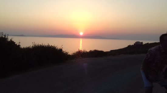 Chorafakia, Grecia: View of the sunset