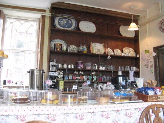 Hartland Abbey & Gardens: The Tea Room at Hartland Abbey