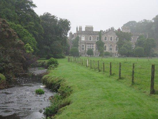 Hartland Abbey & Gardens: The Abbey River beside Hartland Abbey