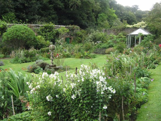 Hartland Abbey & Gardens: The Walled Garden at Hartland Abbey