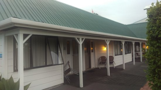 Scenic Hotel Bay of Islands: Room 109 from the outside