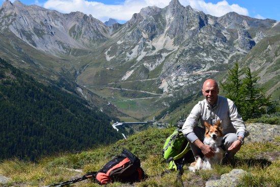Valpelline, Italia: strada colle del gran san bernardo