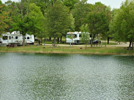 Cedar Springs, MI: Our rig from across the pond