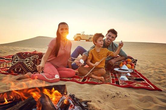 Abu Dhabi, Vereinigte Arabische Emirate: Desert Camping