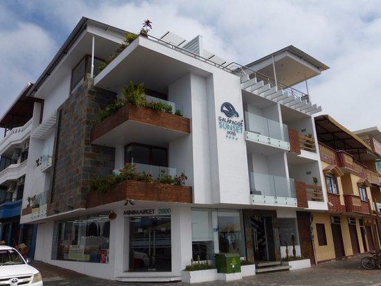Puerto Baquerizo Moreno, Ecuador: Hotel view