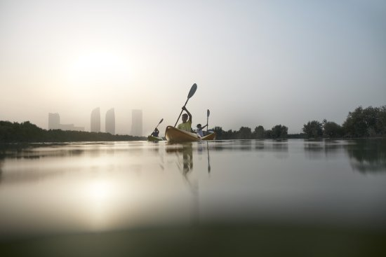 Abu Dhabi, United Arab Emirates: Mangroves Kayaking