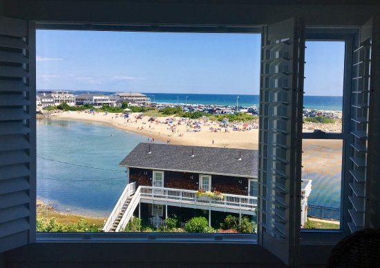 Marginal Way House: The view from room 112