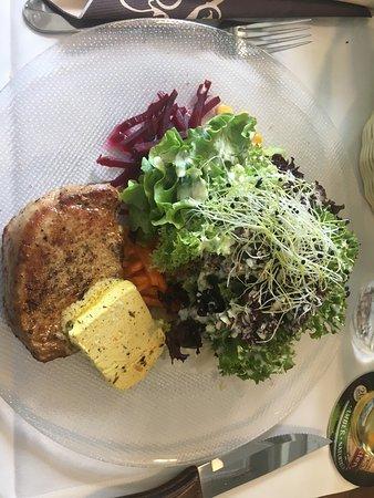 Schlatt, Schweiz: Great food - well done