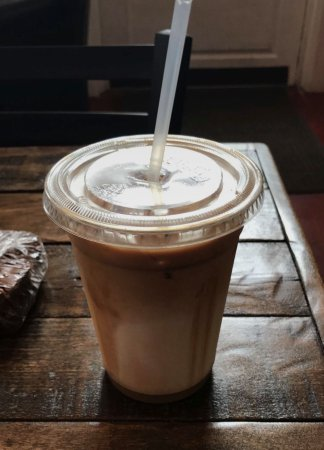 Pikeville, KY: Iced Caramel Macchiato