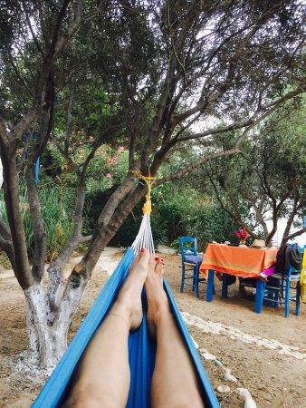 Δονούσα, Ελλάδα: Hammock nap!